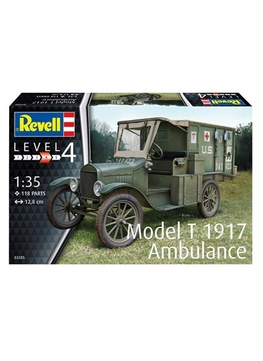 Revell  Maket Model T 1917 Ambulance 03285 Renkli